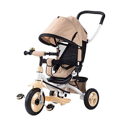 Tricycle pour enfants, vélo bicyclette Chariot bébé 1-3-5 ans vélo