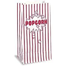 Único - Bolsas de papel para las palomitas de maíz de 10