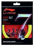 Li Ning Badminton Schläger-Saite No. 7 Gelb