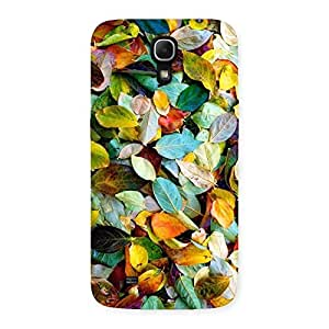 Stylish Colorfull Leafs Back Case Cover for Galaxy Mega 6.3