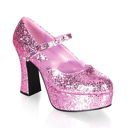 Funtasma MARYJANE-50G - Karneval Fasching Halloween Kostüm Schuhe, Größe:EU-41/42 / US-11 / UK-8
