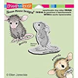 Unbekannt Stampendous Gummi House Maus Selbst Stempel 3,5x 4-Zoll, Hopeful Maus