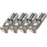 BeiLan 4x T10 W5W 3 lampadine LED SMD 3030 per auto DC12V 6000K Luci bianche estremamente luminose Canbus Error Free Non-polarità per luci porta targa Luci di carico Trunk 2825 192 168 194
