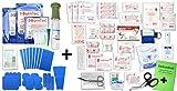 Erste Hilfe FÜLLUNG Gastro für Betriebe DIN/EN 13157 Plus 2 INKL. Augenspülung + Brandgel + detektierbare Pflaster + Hydrogelverbände + DESINFEKTIONSSPRAY