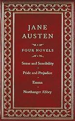 Jane Austen: Four Novels: Sense and Sensibility/Pride and Prejudice/Emma/Northanger Abbey (Canterbury Classics)