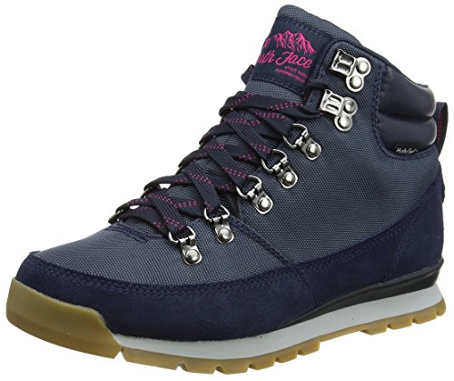 The North Face Damen Back To Berkeley Redux Leather Stiefel, Mehrfarbig (Urban Navy/Cabaret Pink), 37 EU (North Winter Face Boots)