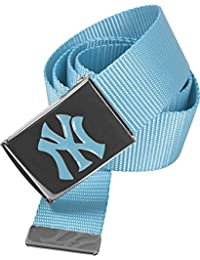 MSTRDS Herren Gürtel Mlb Premium Woven Belt Single