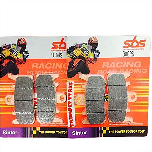 Set di pastiglie Freno sinterizzate per Ducati Monster+ 797 17 18 19 SBS, qualità OE 900RS