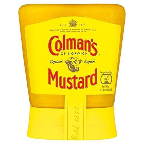 Colman Ursprünglichen Englisch Squeezy Senf 150G - Packung mit 6 -