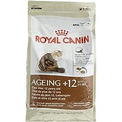 Royal Canin Katzenfutter Ageing + 12, 4 kg, 1er Pack (1 x 4 kg)