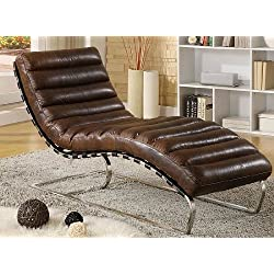 Phoenix Company 436 Chaise longue en cuir