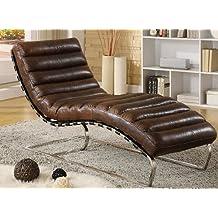 phoenix company 436 chaise longue en cuir - Chaise Longue Cuir
