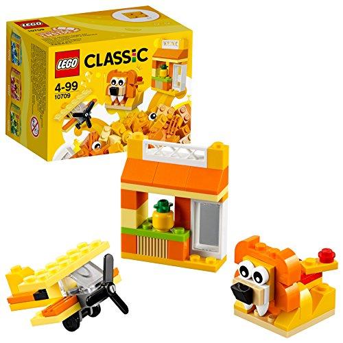 LEGO  Classic - Caja creativa de color naranja (10709)