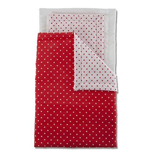 Preisvergleich Produktbild Micki 10.2151.00 - Bettwäsche für Puppenbett,  gepunktet
