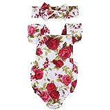 Vêtement Bébé Fille Combinaison Florale Rose Imprimée Manches - Best Reviews Guide