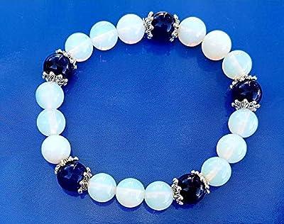 Bracelet Opale et Lapis Lazuli