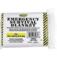 Emergency Survival Solar Blanket - 1 Person by Mayday Industries preisvergleich bei billige-tabletten.eu