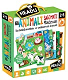 Headu IT21932 Gli Animali sagomati Montessori