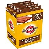 Pedigree Meat Jerky Stix Dog Treats, Liver, 80 G Pouch (Pack Of 4)