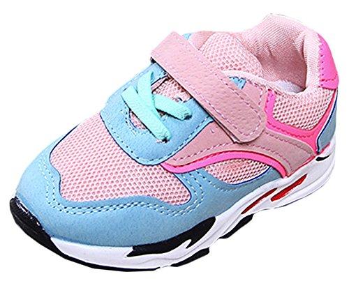 Scothen Unisex-Baby Kinder Sneakers Laufen Schuhe Jungen Mädchen Sneaker Sportschuhe Sneakers Jungen Mädchen Low-Top Sneakers Hallenschuhe Laufschuhe Outdoor Basketball Schuhe
