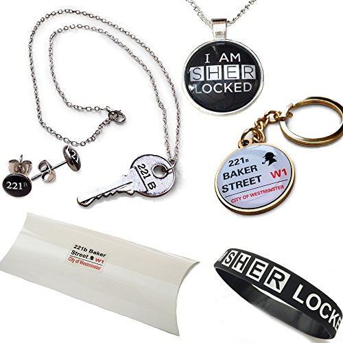 sherlock-holmes-221b-de-baker-street-paquete-de-regalo-collares-pulseras-pendientes-y-anillo-dominan