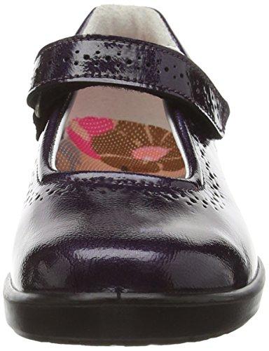 Ricosta  Lillia M Patent 62, Babies pour fille Violet - Purple (Purple Patent)