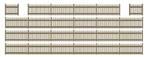 busch-environnement-bue6007-modelisme-ferroviaire-cloture-en-bois
