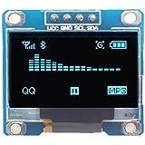 Alftek 0,96 Zoll I2C IIC serielle 128 x 64 blau OLED LCD LED-Anzeige-Modul für Arduino
