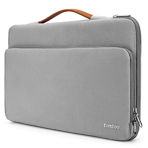 tomtoc Laptop Aktentasche Hülle kompatibel mit 2018 Neu MacBook Air 13,3