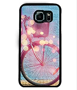 PrintVisa Metal Printed Cycle Designer Back Case Cover for Samsung Galaxy S6 G920I-D4912