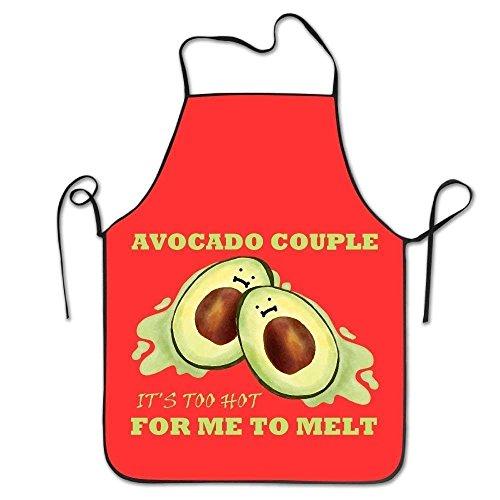 HTETRERW Avocado Couple Women's Funny Creative Print Cooking Aprons (König Bob Kostüm)