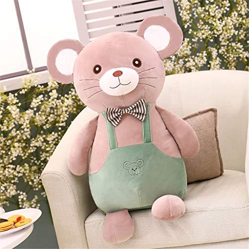 Miss Zhang's shop Orso peluches Simpatico Animale Bambola per Bambini peluches Comfort Cuscino per Cuscino 60 Cm Verde Peluche Giocattoli