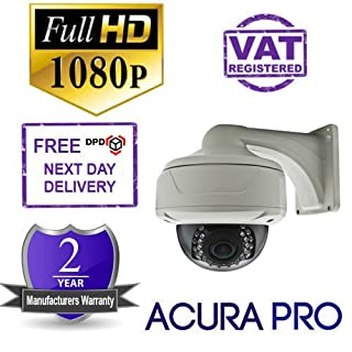 AcuraPRO Sony Exmor 1080P FULL HD-SDI-Kamera mit Variofokus, Infrarot, 2, 8-12 Dome Überwachungskamera