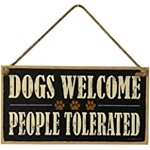 Placa Decorativa para Colgar con Texto en inglés Farm Pet House