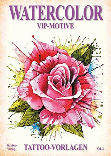 Watercolor Volume 2 - VIP Motive - Tattoo Vorlagen