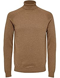 SELECTED HOMME Herren Pullover Shdadam Roll Neck Noos