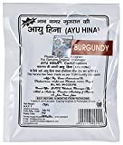 #3: AYU HINA BURGUNDY HERBAL MEHNDI 25GM