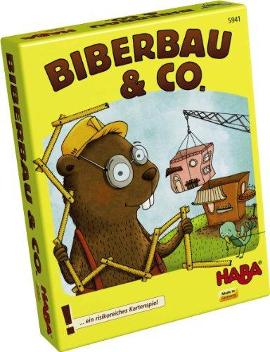 Haba 5941 - Biberbau uns Co, Kartenspiel (24 Stück-bett-satz)