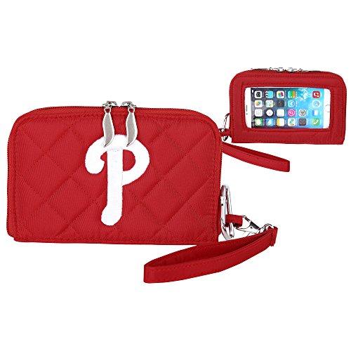 MLB Gesteppt Handy Wallet, One Size, Philadelphia Phillies Mlb Wallet