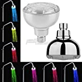1 Pc Water Glow LED Light Shower faucets Heads Multicolor 7 Colors Change Changing Shower Set Bathroom Accessories