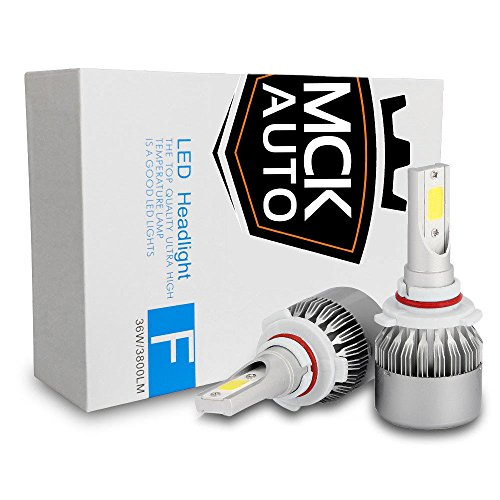 MCK Auto - Sostituzione per H4 HB2 9003 LED CanBus Set di lampadine bianche molto chiare e senza errori compatibili con RAV4 Yaris.