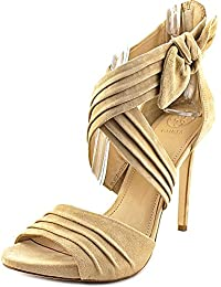 7b936ebb3765 Guess Womens Wazali2 Leather Open Toe Casual Strappy Sandals