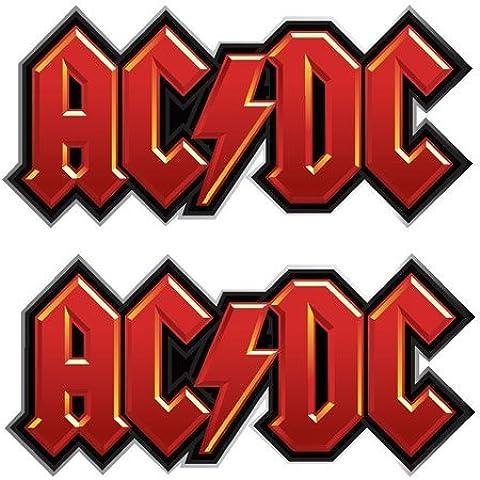 AC/DC - Cuff Link Logo (in One Size)