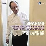 Brahms: 4 Symphonies, 2 Concertos pour Piano.