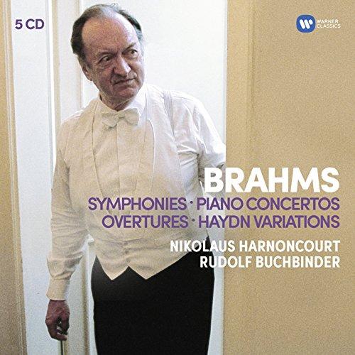 Brahms : Symphonies - Concertos pour piano - Ouvertures - Variations sur un thème de Haydn