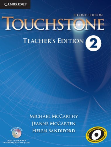 Touchstone Level 2 Teacher's Edition with Assessment Audio CD/CD-ROM Second Edition