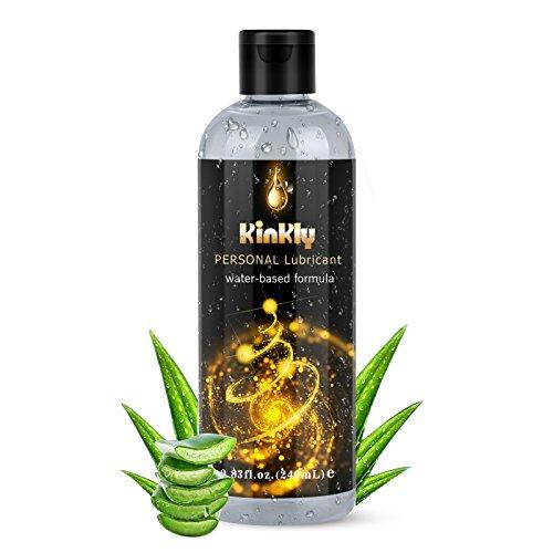 Kinkly Gleitgel Wasserbasis Wärmend Gleitmittel 240ml Für Massageöl Intimbereich PH Optimiert Langzeitwirkung auf Wasserbasiertes Intimgel