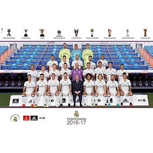 Grupo Erik Editores Real Madrid 2016/2017 Plantilla – Poster ,