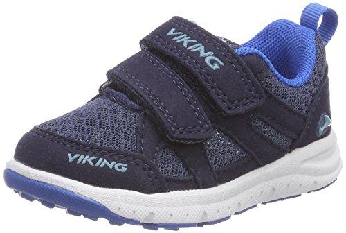 viking Unisex-Kinder Odda Outdoor Fitnessschuhe, Blau (Navy/Royal 515), 28 EU