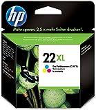 HP 22XL - 11 ml - Hohe Ergiebigkeit - Farbe (Cyan, Magenta, Gelb) - Original - Tintenpatrone